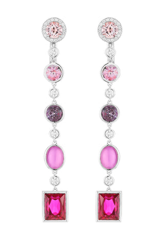 Flowering Fuchsia Earrings