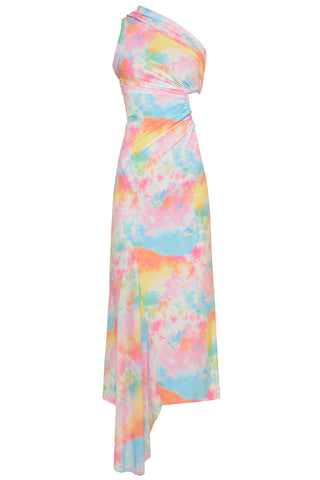 Tie Dye Cut Out Dress in Tie Dye