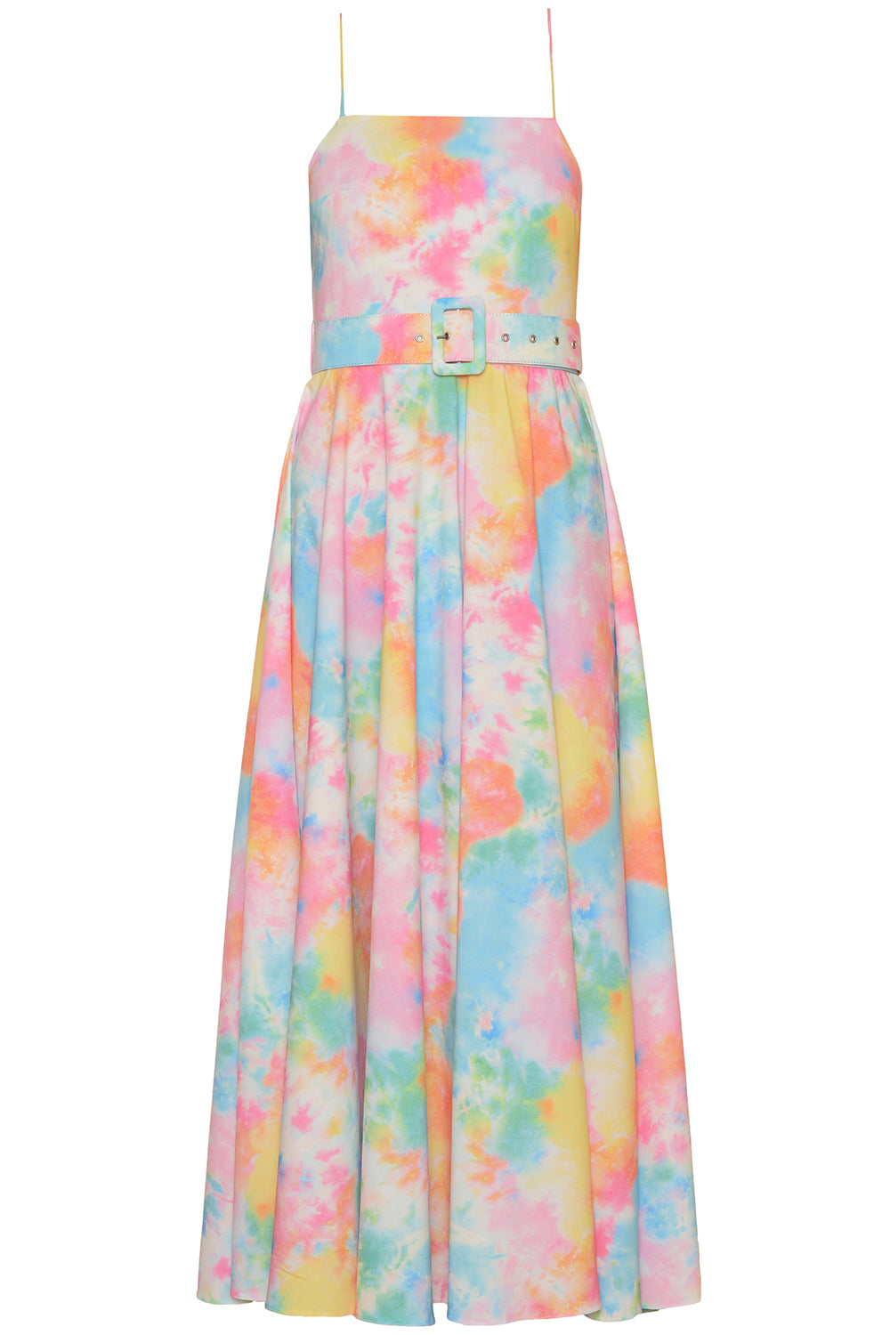 Tie Dye Flared Dress