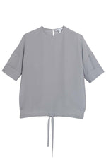 Calla Blouse in Grey thumbnail