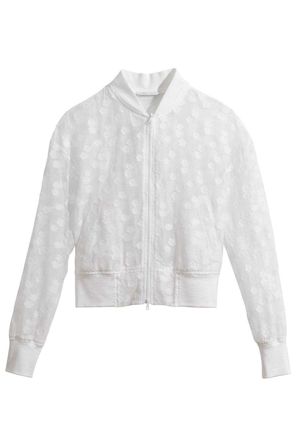 Eloisia Bomber Jacket in White