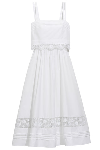Stella Dress in White