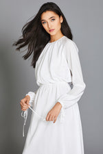 Annis Dress in White thumbnail