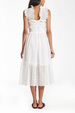Olympia Dress in White thumbnail