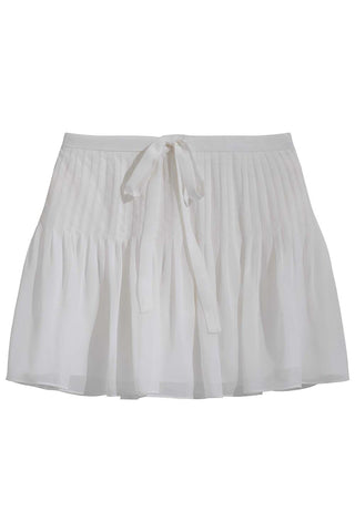 Mahalia Skirt in White