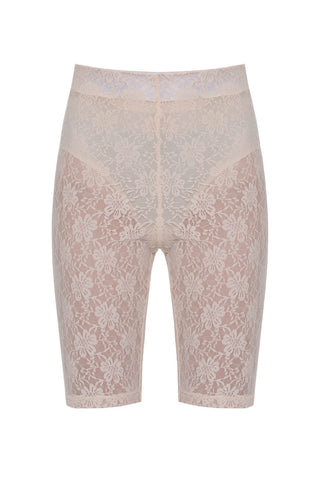 Bare It All Shorts in Peach