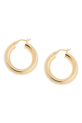 Dominique Hoop Earrings in Gold