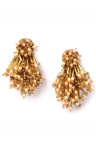 Burst Earrings in Gold