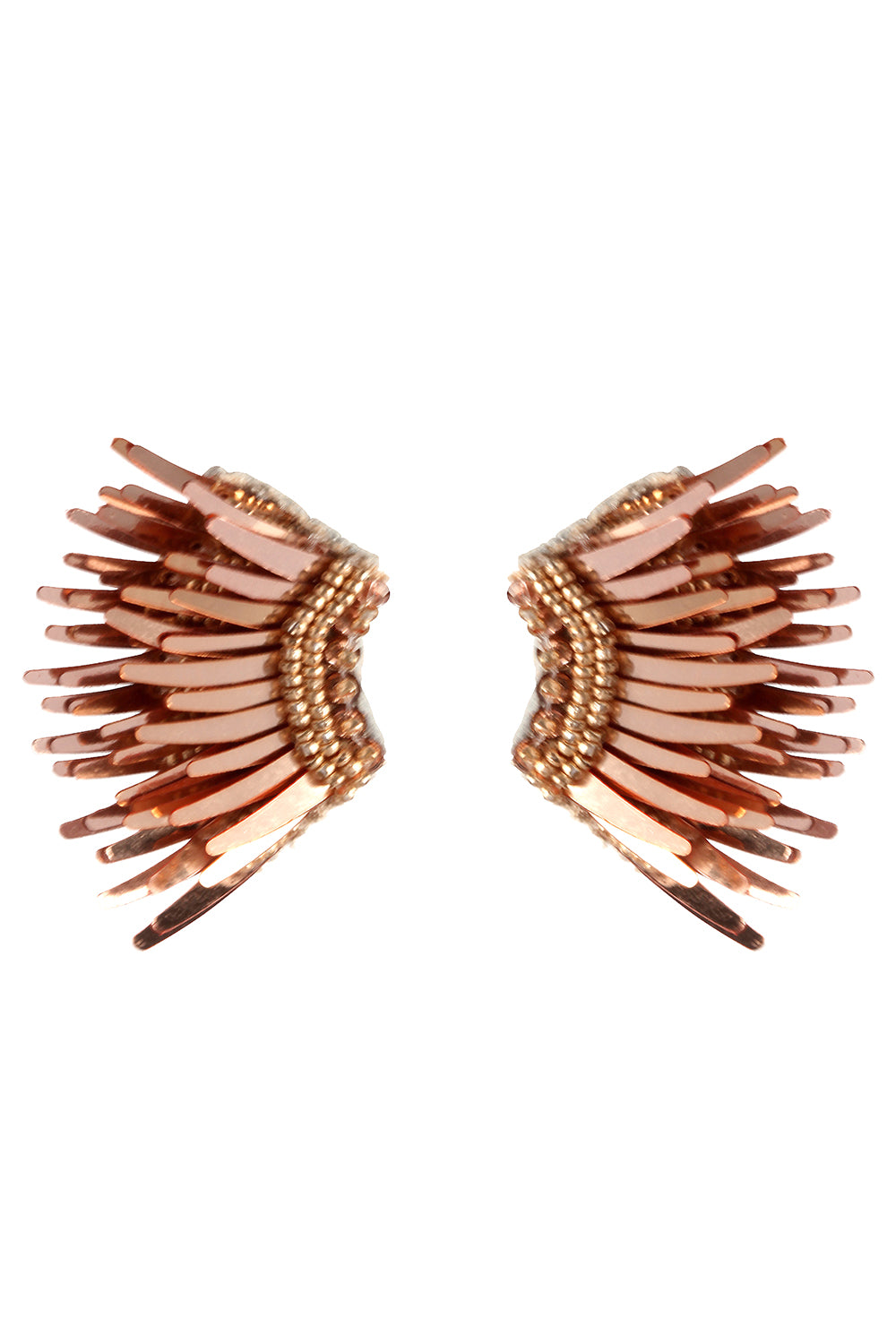 Mini Madeline Earrings in Rose Gold