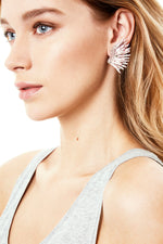 Paintsplatter Mini Madelines Earrings in Blush thumbnail
