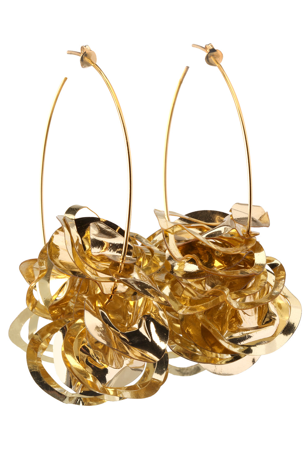 Lola Hoops in Gold
