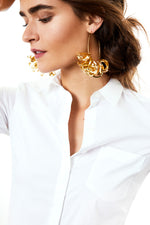 Lola Hoops in Gold thumbnail
