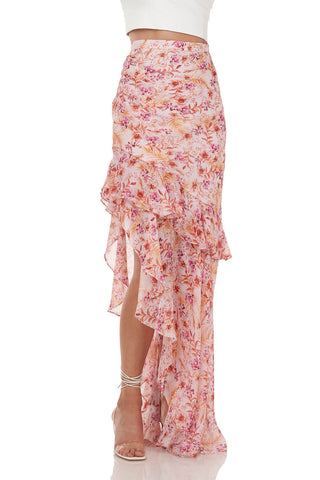 Emelia Skirt in Orchid Hush Rosa Floral