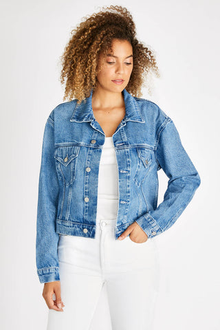 Chelsey Denim Jacket in San Felipe