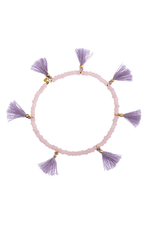 Elle Stretch Bracelet in Lilac thumbnail