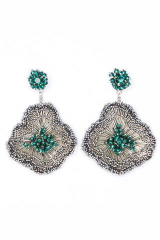 Emilia Earring in Emerald