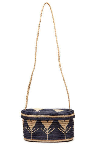 Esmerelda Crossbody Bag in Navy