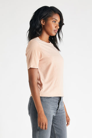 Evie Classic Tee in Coffee