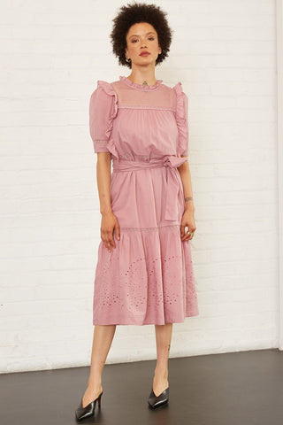Cecilia Dress in Mauve