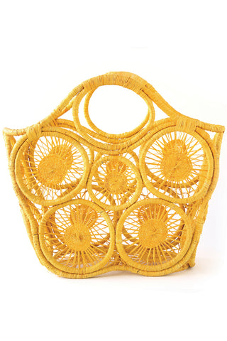 Fortaleza Tote in Sunflower Yellow