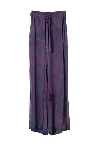 Frida Wide Leg Pant in Magenta Haze