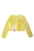 Cropped Fox Jacket in Celadon thumbnail