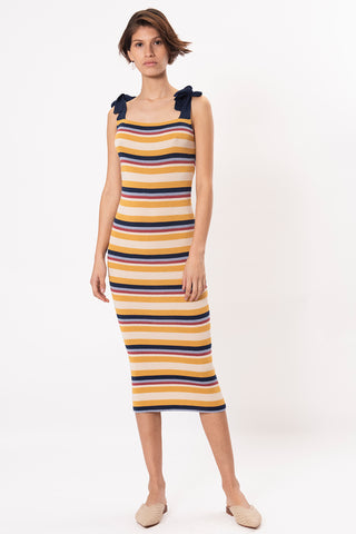 Imaru Dress in Vibrant Multicolor