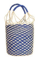 Net Bucket Bag in Blue thumbnail