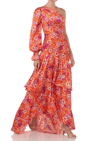 Israella Dress in Flame Rosa Floral