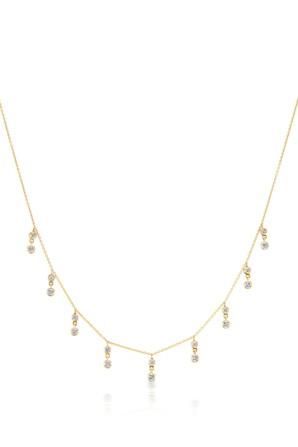 Cleopatra Necklace in Yellow Gold