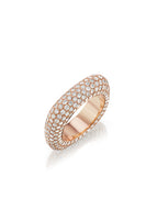 Square Bling Ring in Rose Gold thumbnail