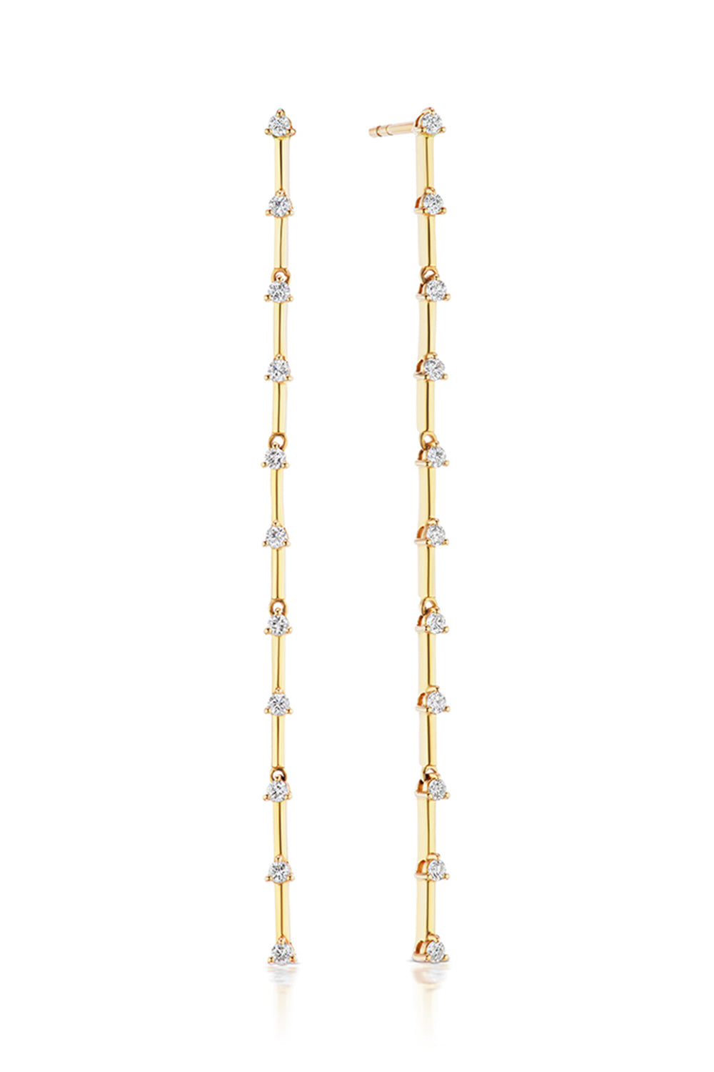 The Stand Out Earrings in Yellow Gold