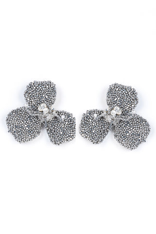 Katya Earrings in Silver