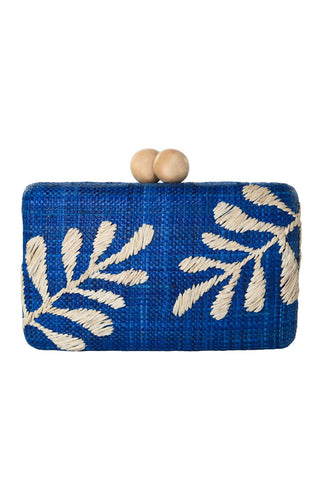 Noreen Clutch in Blue