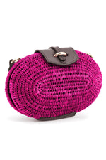 The Lindi Minaudiere Bag in Hot Pink thumbnail