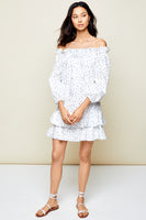 Amelia Off-the-Shoulder Ruffle Dress thumbnail