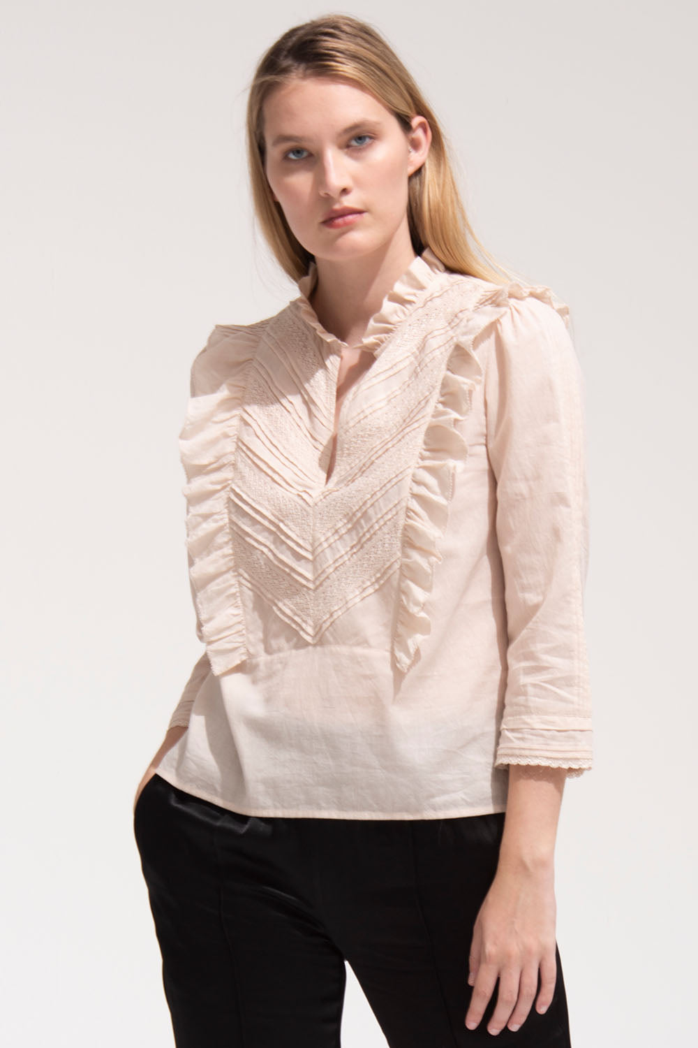 Linde Blouse in Birch