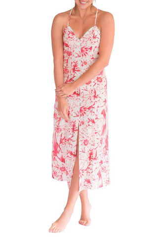 Mila Tropical Paradise Red Pajama