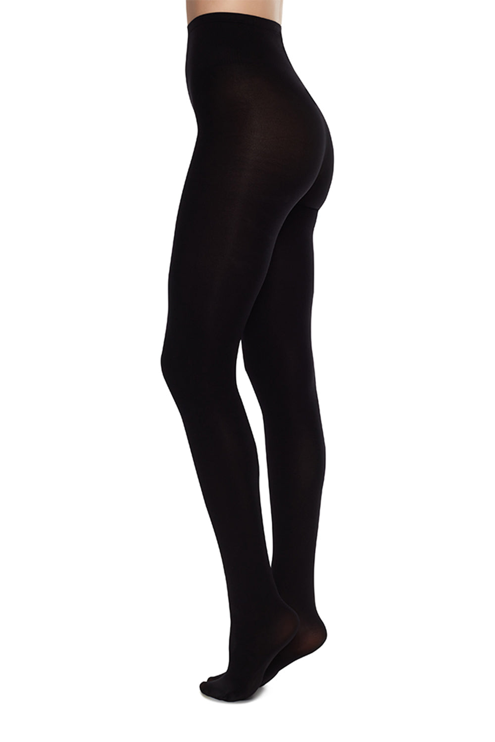 Lia Premium 100 Denier Tights in Black