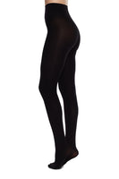 Lia Premium 100 Denier Tights in Black thumbnail