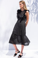 Lila Dress in Black thumbnail