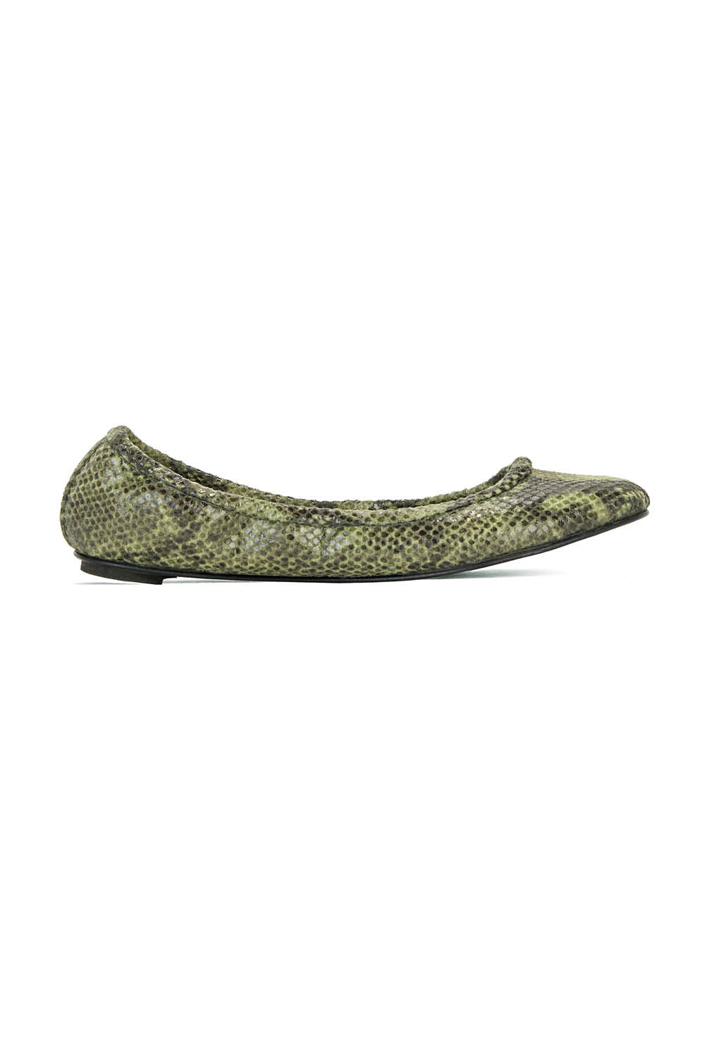 Lily in Olive Python Effect