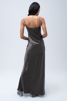 Liquid Silk Slip in Slate thumbnail