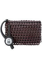 Luciana Mini Clutch in Bordeaux thumbnail
