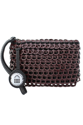 Luciana Mini Clutch in Bordeaux