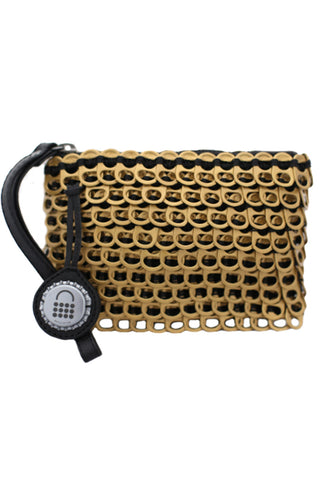 Luciana Mini Clutch in Gold
