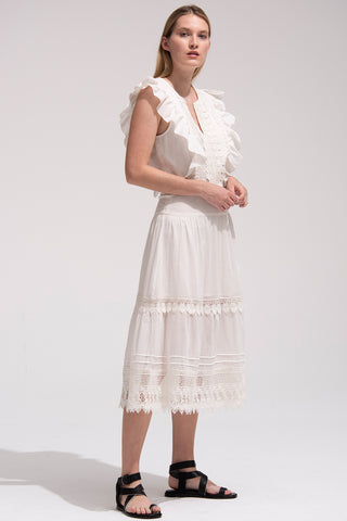Lux Dress in Ivory