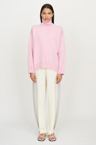 Oversized Jumper in Pink