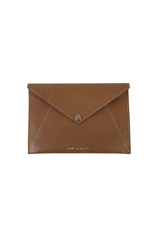 Love Letters Medium Envelope Wallet in Antique Tan