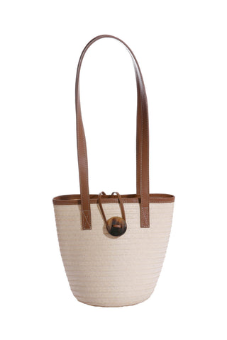 Marcial Mini Tote in Natural Caña Flecha